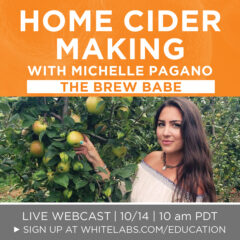 Home Cider Making Webcast